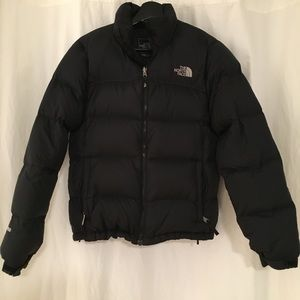 North Face Classic Black Down Jacket